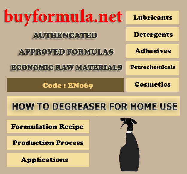 How to make degreaser for home use