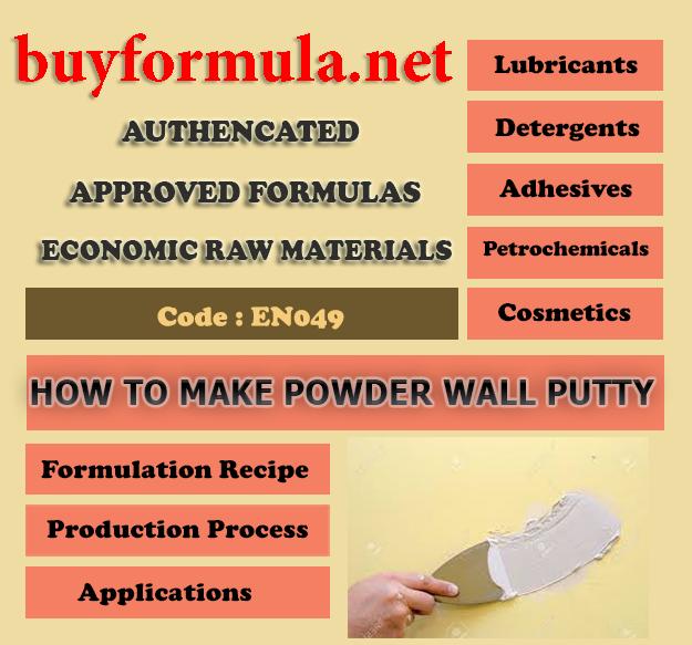 buyformula | How to make powder wall putty